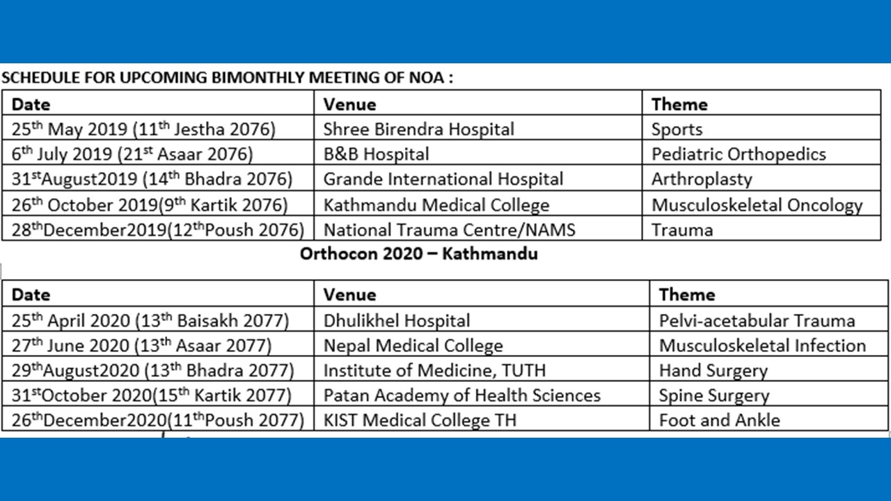 bimonthly-cme-schedule